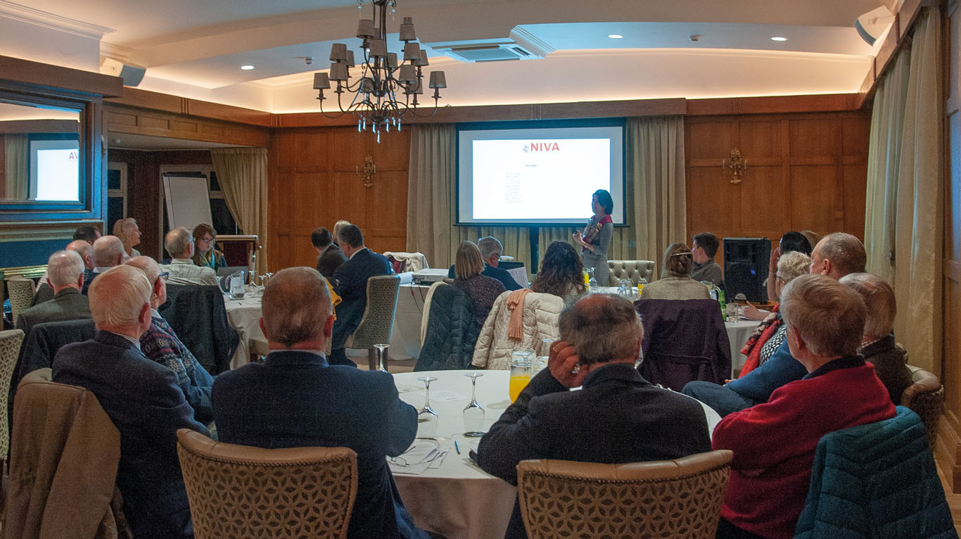 There was a capacity audience for the NIVA's 2020 AGM recently in the Dunadry.