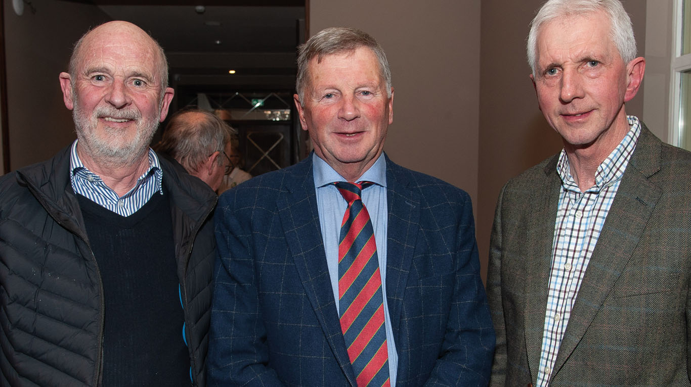 Pictured are Charlie Hart; Bert Allison and Brian McAuley.