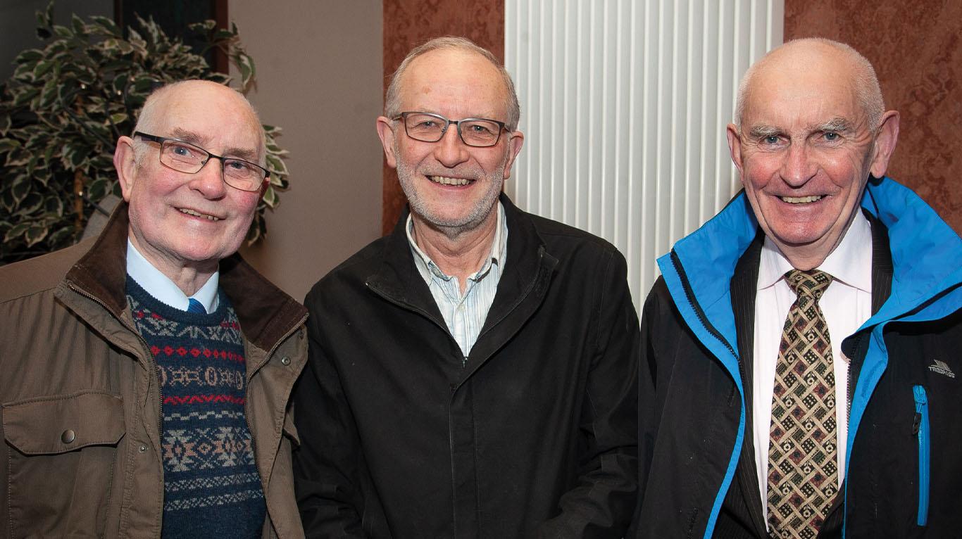 Also in attendance were John Ramsey, John Hood and Henry Gribbin.