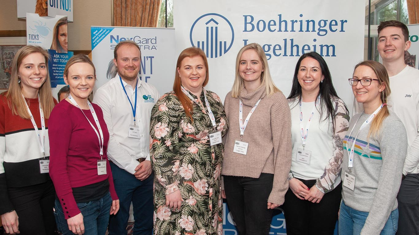 The YVN NI committee team are Glenda Ward, Jenny McCaughey, Ed Taylor, Kirsty Morrison, Rachel Davies, Fiona McFarland, Hatti Dainton and Mark Savage.