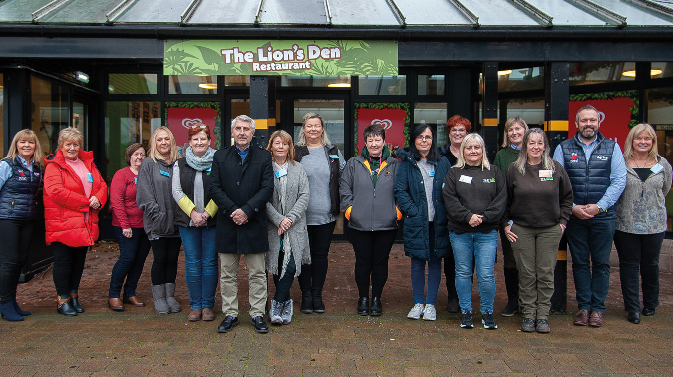 Zoo venue for rescue and rehoming day