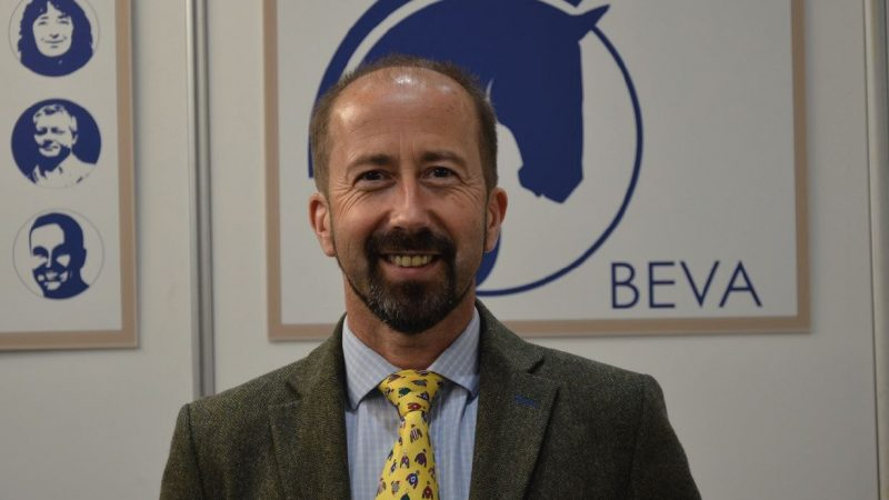 New BEVA President vows vet welfare will be priority